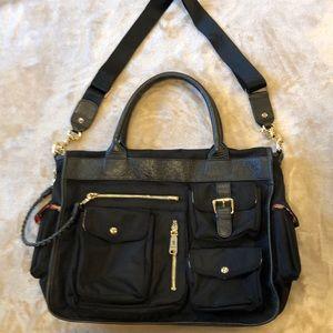 JPK Paris 75 Black Handbag Black